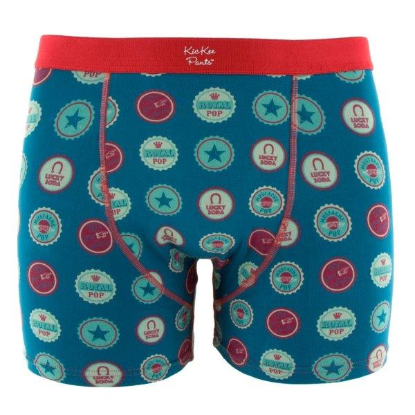 Bamboo Boxer Brief in Soda Pop Caps