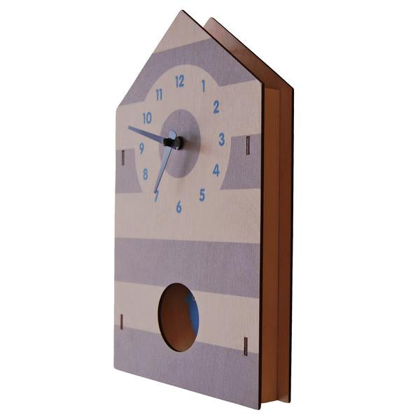 Bird House Pendulum Clock