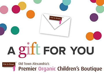 Pink & Brown e-Gift Cards - Pink and Brown Boutique