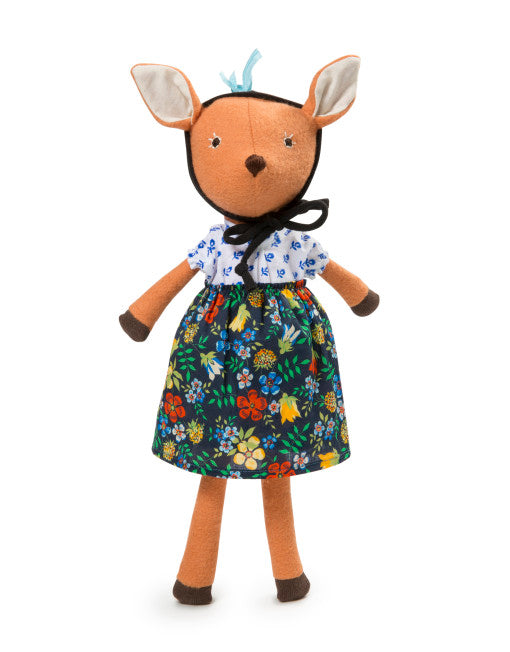 Miss Phoebe Fawn - Pink and Brown Boutique