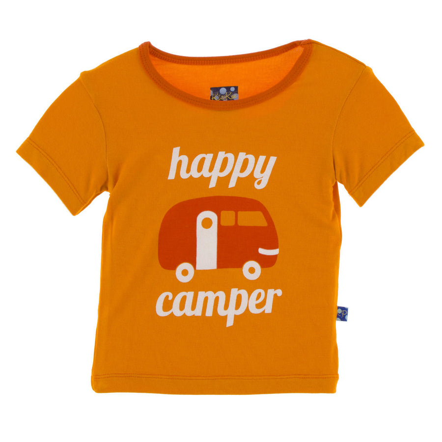 Print Tee in Happy Camper