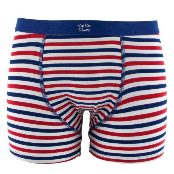 Bamboo Men Boxer Brief in USA Stripe