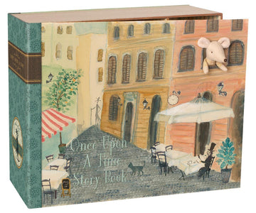 Mouse Book House - Pink and Brown Boutique
