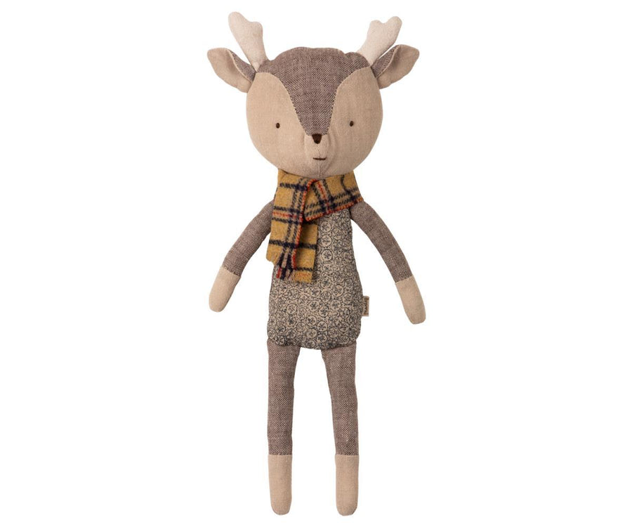 Reindeer Boy - Pink and Brown Boutique