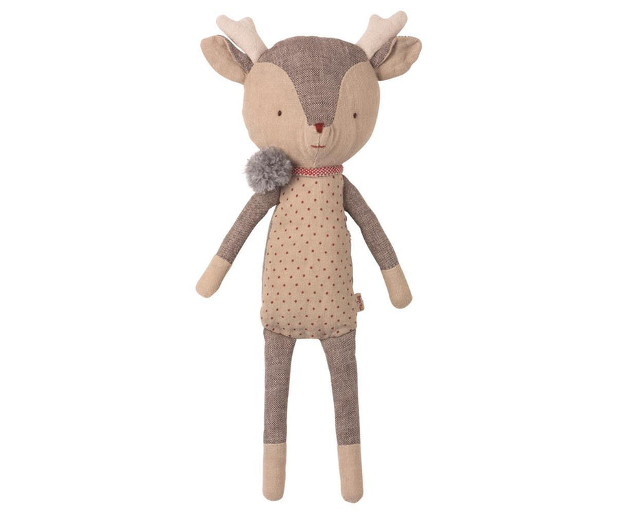 Reindeer Girl - Pink and Brown Boutique