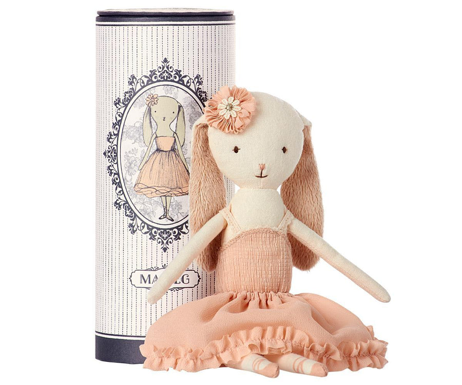 Dancing Ballerina Bunny - Pink and Brown Boutique