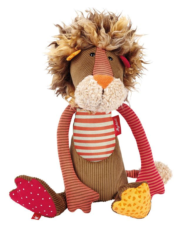 Plush Lion - Pink and Brown Boutique