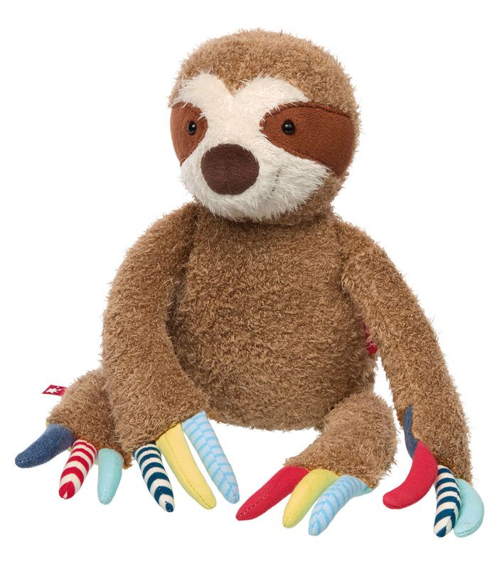 Plush Sloth - Pink and Brown Boutique