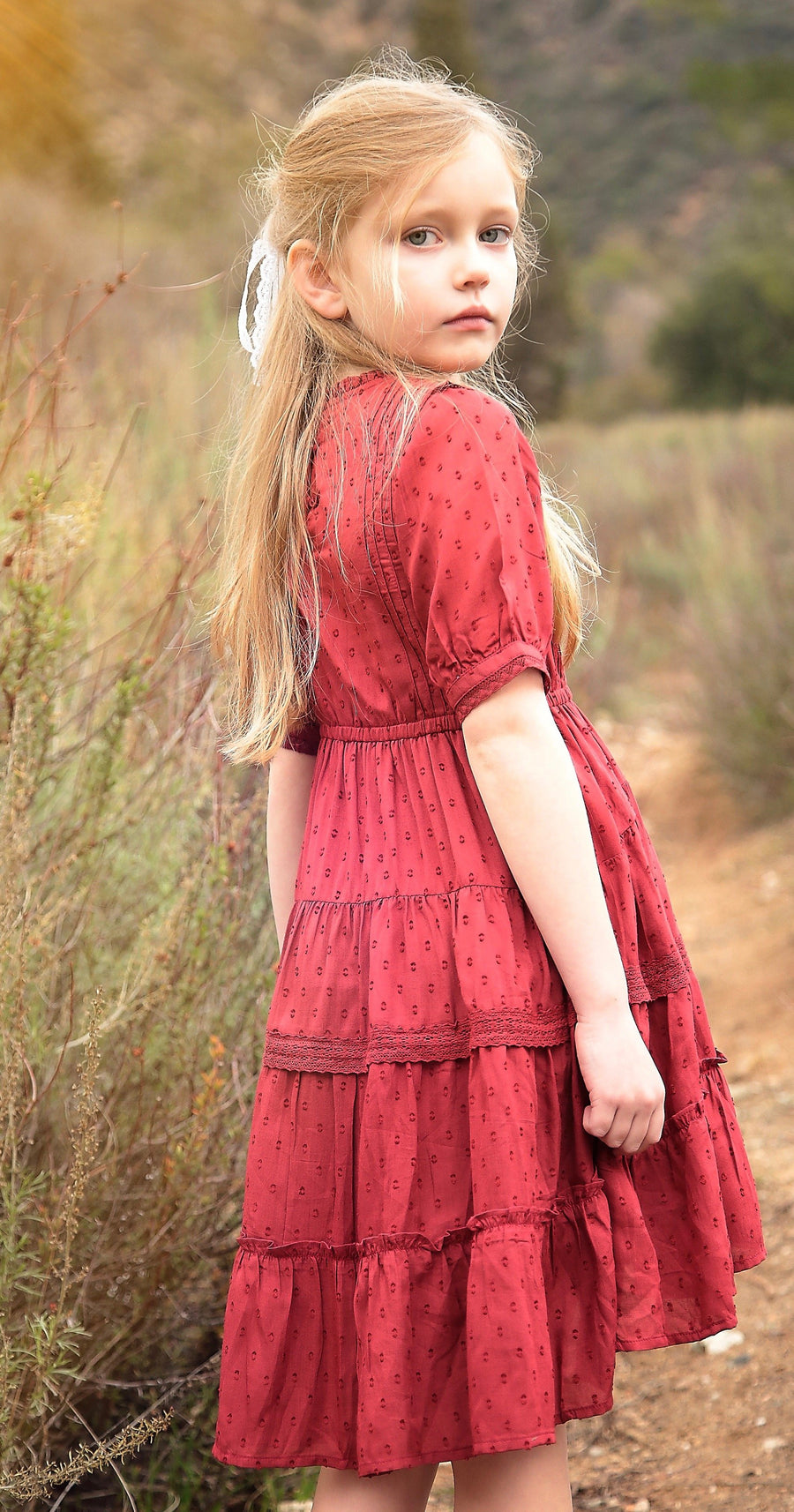 dreamy rosalynn dress - Pink and Brown Boutique