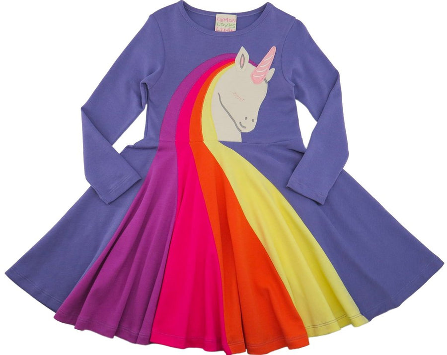unicorn dress - Pink and Brown Boutique