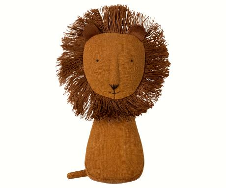 Lion Rattle - Pink and Brown Boutique