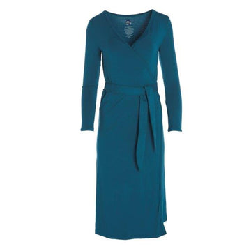 Bamboo Basic Robe in Heritage Blue
