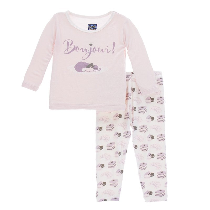 Bamboo Pajama Set in Sweet Treat