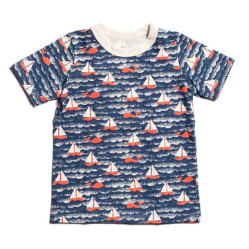 Organic Tees in Sailboat