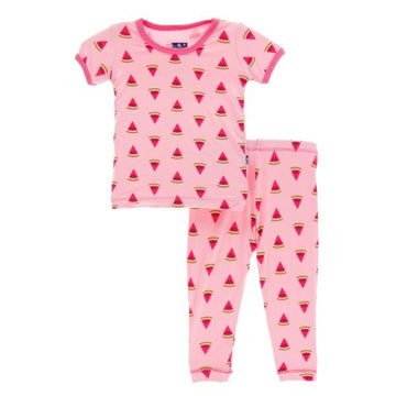 Bamboo Pajama Set in Watermelon