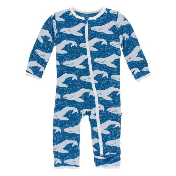 Bamboo Coverall in Twilight Whale