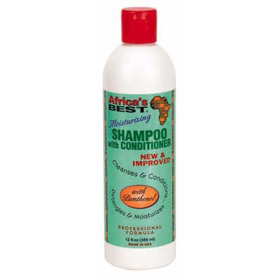 Africa's Best Moist Shampoo with Conditioner 12oz