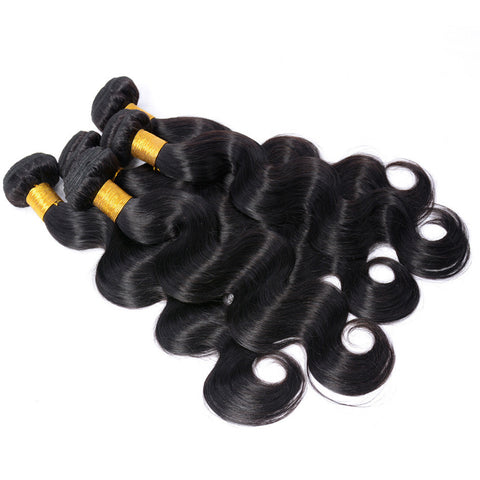 7A 100% Unprocessed Indian Body Wave Virgin Hair 3 Bundles