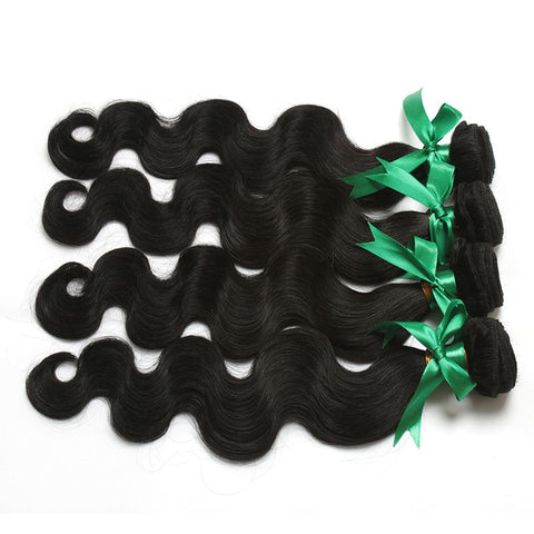 7A 100% Unprocessed Malaysian Body Wave Virgin Hair 4 bundles