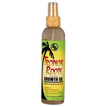 B&B Tropical Roots Growth Oil Spray 8oz