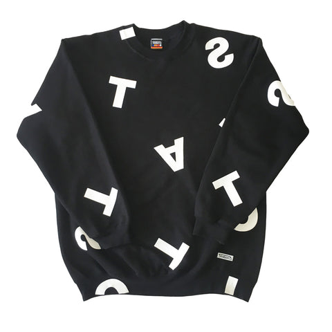 Station 'Alphabet Soup' Crewneck