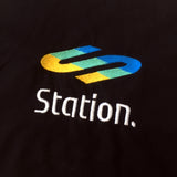 Station 'PLAY' Embroidered Tee