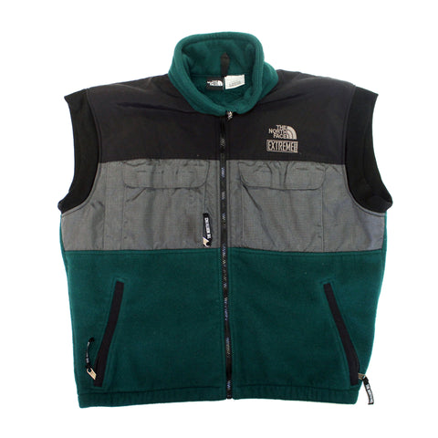 The North Face 'Extreme' 90's fleece vest (L)