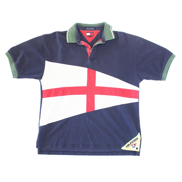 Tommy Hilfiger Sail Gear Flag Polo (L)