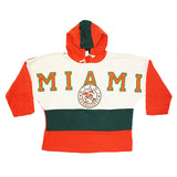 Miami Hurricanes 2x sided pullover (L)