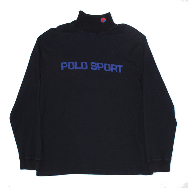 POLO SPORT Knitted 'P' turtle neck