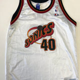 Vintage Champion Shawn Kemp Seattle Super Sonics Jersey (S)