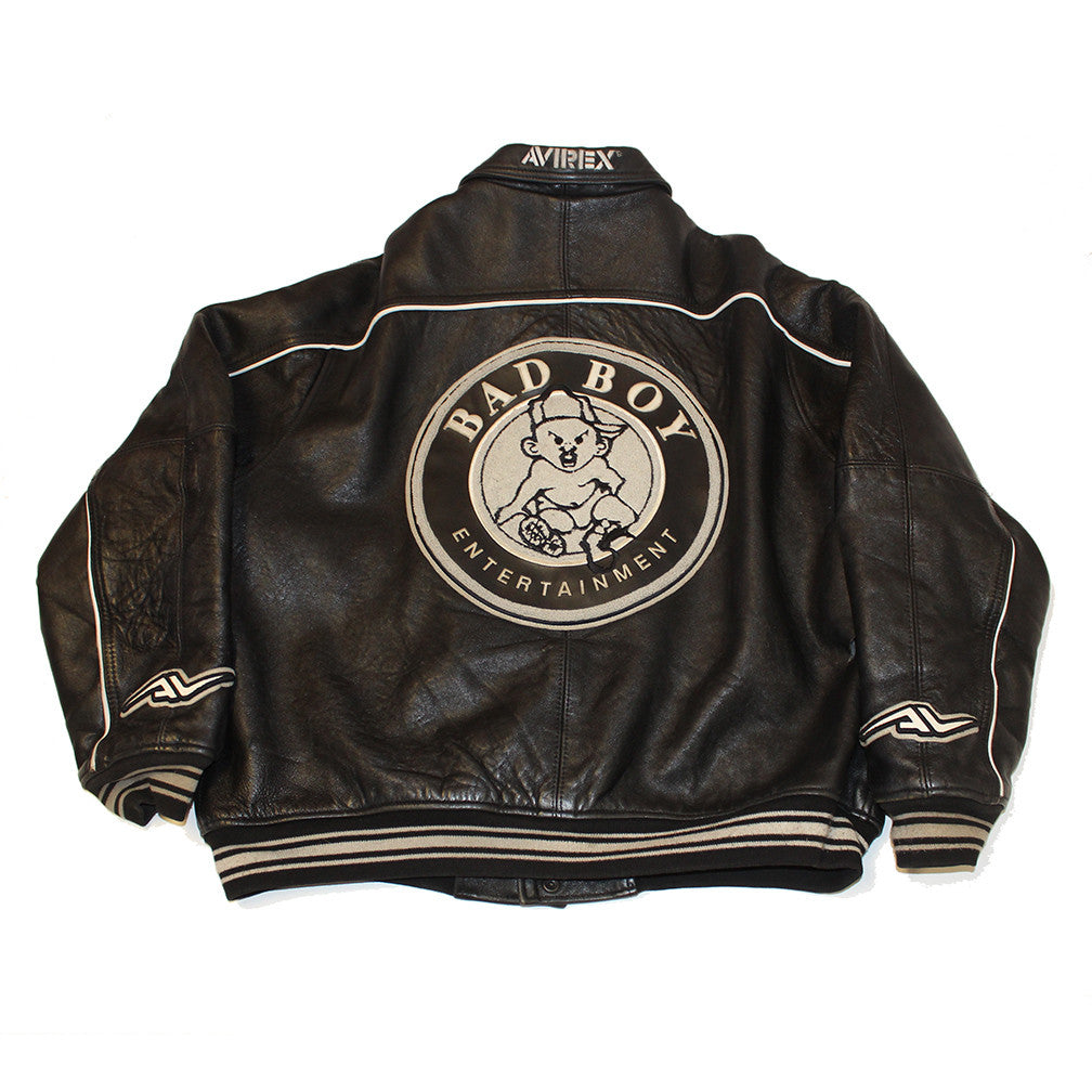 Bad Boy Ent. Leather Avirex jacket