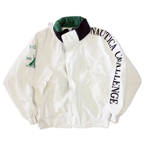 Nautica Challenge Jacket w/ packable hood (M)