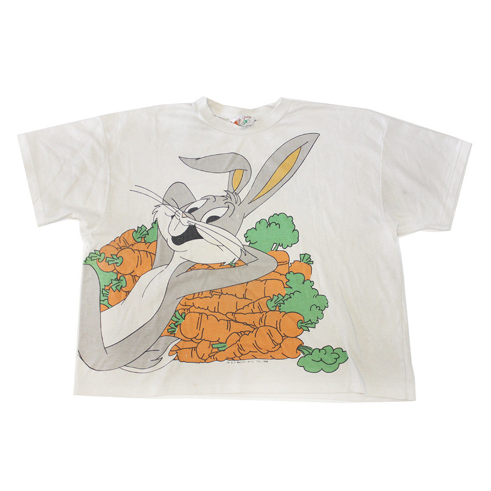 88' Bugs Bunny 'Whats Up Doc' 2x Sided crop top (L)
