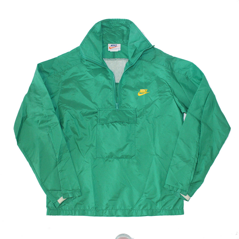 80's Nike Windbreaker w/ Detachable hood (L)