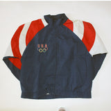 USA olympics screaming eagle windbreaker (L)