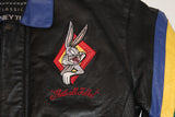 Looney Tunes 'Brady Bunch' 100% Leather Jacket (S)