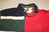 Tommy Hilfiger Half and Half Polo (M)