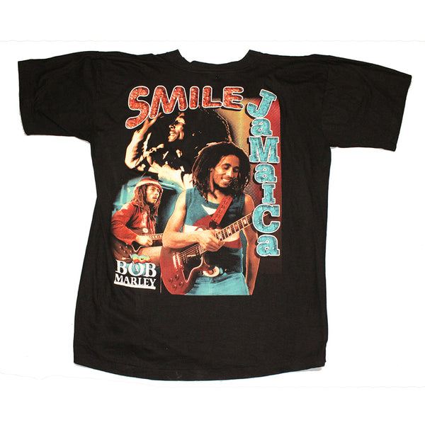 Bob Marley 'Smile, Jamaica' 2x sided rap tee (XL)