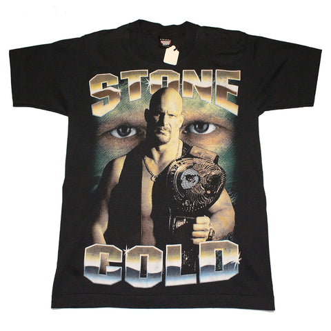 Stone Cold Steve Austin 3:16 Wresting tee 2x sided (S)