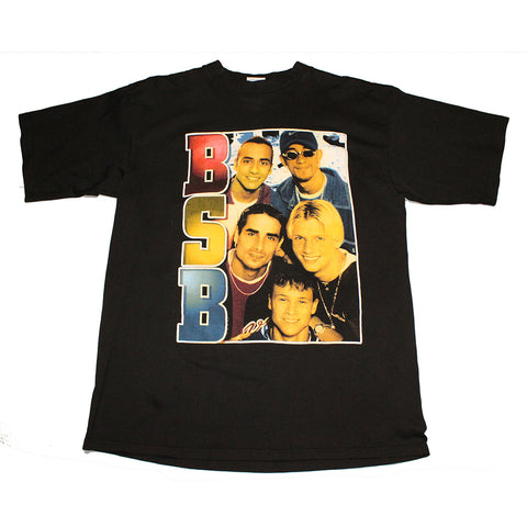 BackStreet Boys BSB 2x sided Rap tee