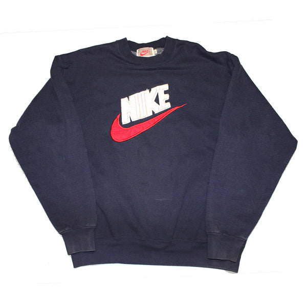 140fe02c25 Nike Embroidered Big Logo Pullover (L)