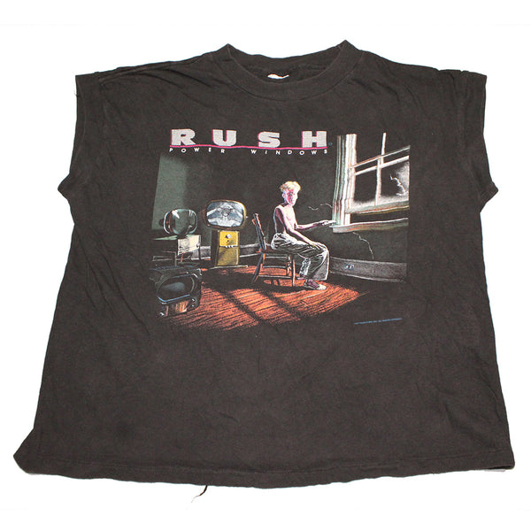 1985 Rush Power Windows Tour Sleeveless Shirt (S/M)
