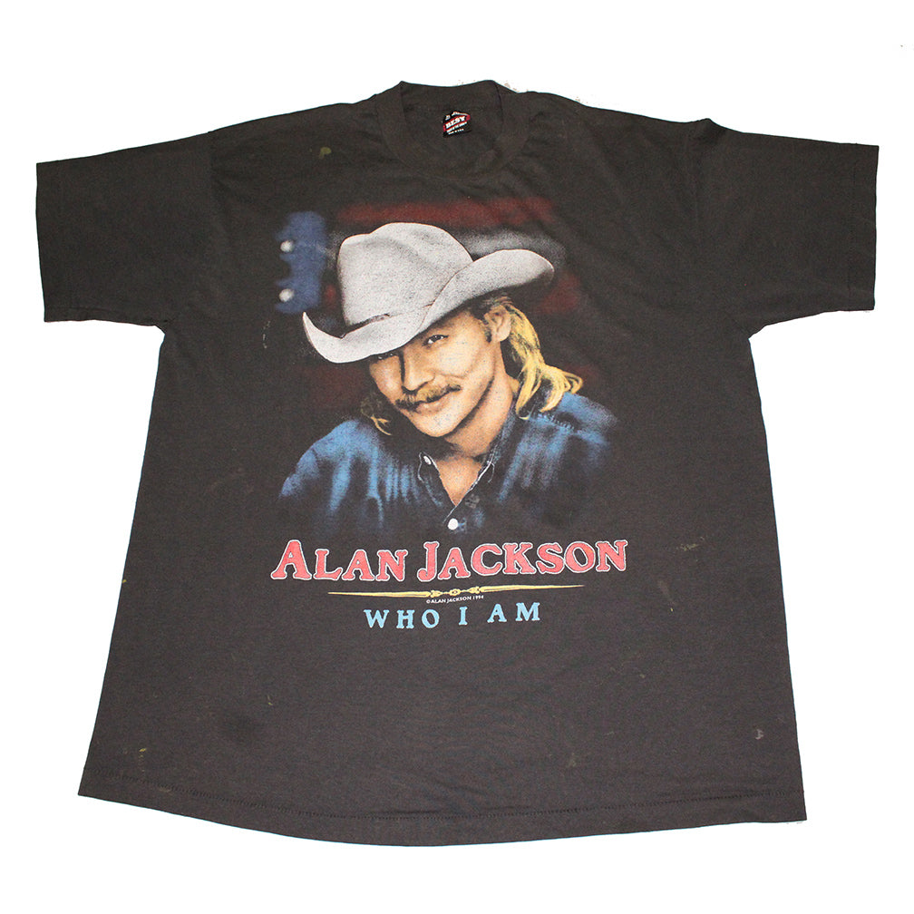Alan Jackson 'Who Am I' Tee (XL)