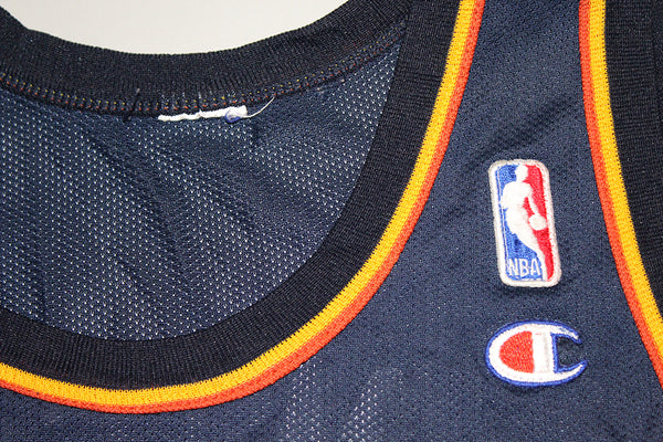 detailed look a3c8b 3871e Antawn Jamison Warriors Champion Jersey (XL)
