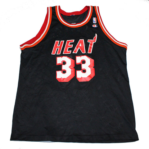 Alonzo Mourning Heat Champion Jersey (XL)