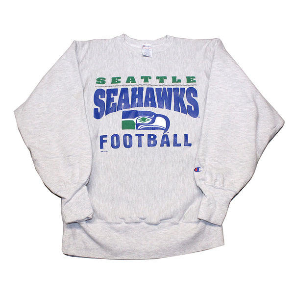 Seattle Seahawks Champion Reverse Weave Pullover (L)