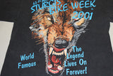 2001 Sturgis Bike Week 2x Sided Tee (L)