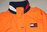 Orange Tommy Hilfiger Spellout Windbreaker
