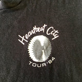'84 The Cars sleeveless 'Heartbreak City' tour tee (L)